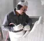 Mintzberg - Taille de Pierre par un ouvrier - 2004